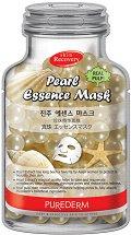 Purederm Pearl Essence Face Mask - маска