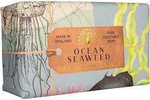 English Soap Company Ocean Seaweed - Луксозен ексфолиращ сапун с океански водорасли - душ гел