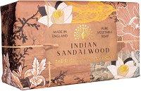 English Soap Company Indian Sandalwood - Луксозен сапун с аромат на сандалово дърво - шампоан