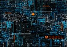 Папка с копче - Gabol: Power - Комплект от 12 броя формат А4 -
