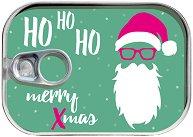 Картичка-консерва -  Ho-Ho-Ho Merry Xmas - пъзел