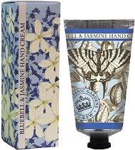 English Soap Company Bluebell & Jasmine Hand Cream - Крем за ръце с аромат на зюмбюл и жасмин - крем