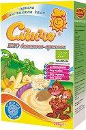 Слънчо - Био инстантна безмлечна каша с банан и ориз - продукт