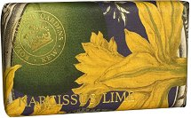 English Soap Company Narcissus Lime Kew Gardens Soap - Луксозен сапун с аромат на нарцис и лайм - гел