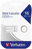 USB 2.0 флаш памет 16 GB - Metal Executive