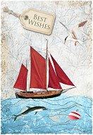 Поздравителна картичка - Best Wishes -