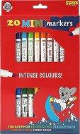 Мини маркери - Комплект от 20 броя