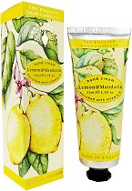 English Soap Company Lemon & Mandarin Hand Cream - Крем за ръце с аромат на лимон и мандарина - крем