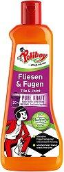Почистващ препарат за плочки и фуги - Poliboy - Разфасовка от 500 ml -