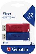 USB 2.0 флаш памет 32 GB - Slider