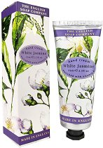 English Soap Company White Jasmine Hand Cream - Крем за ръце с аромат на бял жасмин - спирала