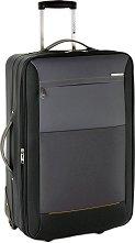 Пътнически куфар с колелца - Gabol: Reims - С размери 42 / 66 / 27 cm -