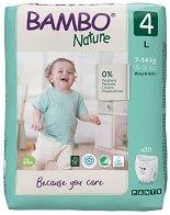 Bambo Nature Pants 4 - L - Еко гащички за еднократна употреба за бебета с тегло от 7 до 14 kg - продукт