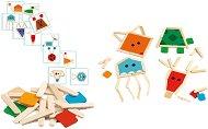 Животни - Дървен образователен комплект -
