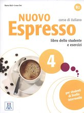Nuovo Espresso - ниво 4 (B2): Комплект от учебник и учебна тетрадка по италиански език + CD -