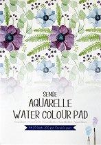 Скицник за акварел - Формат A4 с плътност на хартията 200 g/m : 2 :
