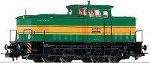 Дизелов локомотив - BR 106 CD - ЖП модел - макет