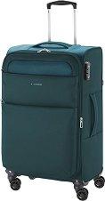 Пътнически куфар с колелца - Gabol: Cloud - С размери 42 / 69 / 26 cm -