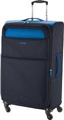 Пътнически куфа с колелца - Gabol: Cloud - Сразмери 47 / 79 / 28 cm -