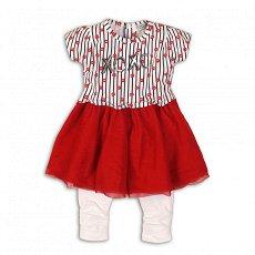 Бебешки комплект - Рокля и клин -