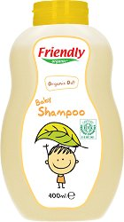 Friendly Organic Baby Shampoo - Бебешки шампоан с био овес -