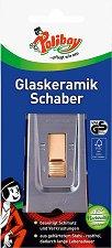 Шпатула за почистване на стъклокерамични плотове - Poliboy - ластик