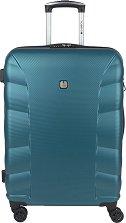 Пътнически куфар с колелца - Gabol: London - С размери 47 / 67 / 25 cm -