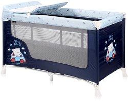 Сгъваемо бебешко легло на две нива - SR2 - Комплект с повивалник -