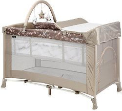 Сгъваемо бебешко легло на две нива - Verona Plus 2020 -