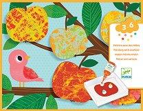 Оцветявай с топчета - Животни - творчески комплект