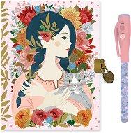 Таен дневник - Oana - Комплект с магическа писалка -
