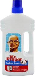 Универсален почистващ препарат с белина - Mr. Proper -