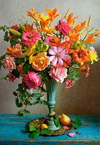 Есенни цветя -