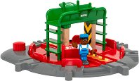 """Въртяща се платформа - В комплект с фигурка от серията """"Brio: Аксесоари"""" - играчка"""