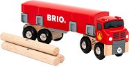 Камион за дърва - играчка