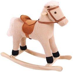 Люлеещо се конче - Детска дървена играчка -