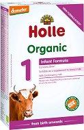 Био мляко за кърмачета - Holle Organic 1 - Опаковка от 400 g за бебета от момента на раждането - продукт