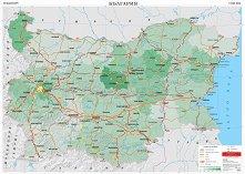 Стенна карта: Транспорт на България - М 1:360 000 -