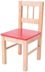 Детско дървено столче -
