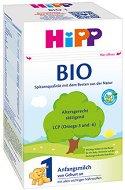 Био мляко за кърмачета - HiPP BIO 1 - Опаковка от 600 g за бебета от момента на раждането -