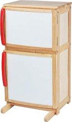 Дървен хладилник - играчка