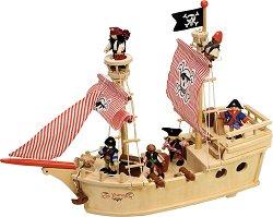 Пиратски кораб с екипаж - Парагон - играчка