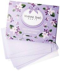 Vivienne Sabo Lingettes Matifiantes Blotting Paper - Матиращи листчета в опаковка от 50 броя -