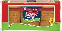 Пшенични сухари без захар и сол - Goldies - Опаковка от 240 g - продукт