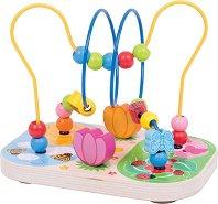 Лабиринт - Цветна градина - играчка