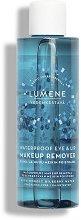 Lumene Vedenkestava Waterproof Eye & Lip Makeup Remover - Двуфазен дегримьор за очи и устни за водоустойчив грим - душ гел