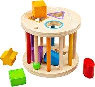 Дрънкалка с формички за сортиране - играчка