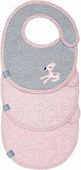 Лигавници - Lela - Комплект от 3 броя за бебета от 0+ до 12 месеца -