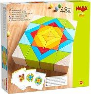 Геометрична мозайка - Дървен образователен комплект -