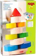 Кула - Дървена играчка за баланс - творчески комплект